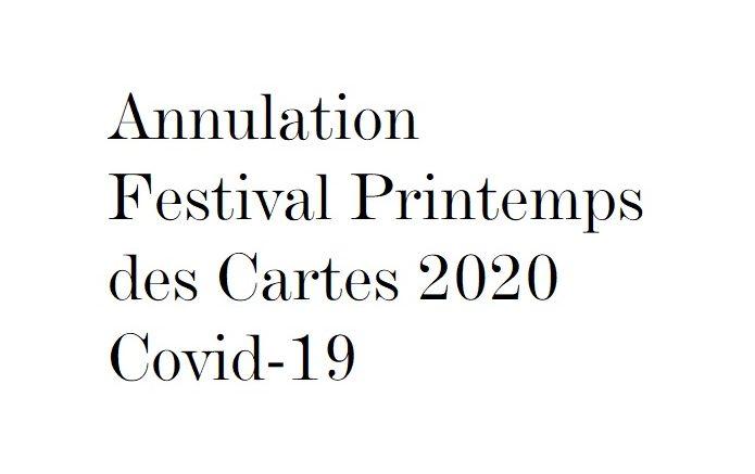 Festival Printemps des Cartes Covid-19